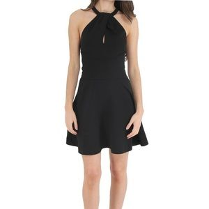 Likely Clinton Black Halter Dress